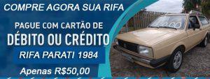 Rifa Parati 1984 MTFILMS – R$50,00